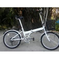 จักรยานพับยี่ห้อ IGNIO ขนาดล้อ 20 นิ้ว 6 เกียร์ Shimano จัดส่งฟรี กทม